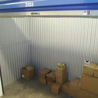 Photo taken at CubeSmart Self Storage by Brendan P. on 5/2/2013