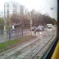 Photo taken at Трамвай № 1 by Alexandr H. on 4/28/2013