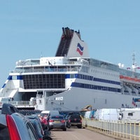 Photo taken at Brittany Ferries Terminal by John C. on 6/14/2017