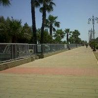 Photo taken at Larnaca Marina by Maha G. on 5/4/2013
