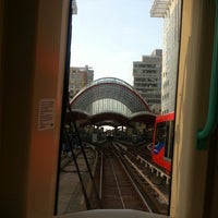 Photo taken at Canary Wharf Pier by Оля Б. on 6/25/2013