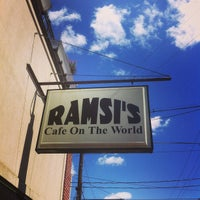 Photo taken at Ramsi's Cafe On the World by Cory C. on 5/12/2013