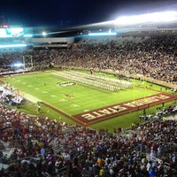 Photo taken at Doak Campbell Stadium by David M. on 9/21/2013