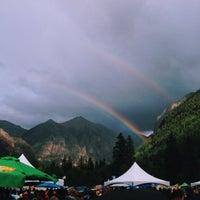 Photo taken at Telluride Blues and Brews Festival by Ryan P. on 9/13/2013