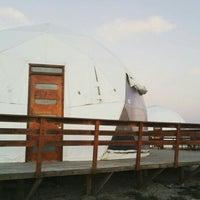 Photo taken at Lodge Punta de Domos by Lorena V. on 4/13/2016