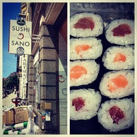 Photo taken at Sushi Sano by Kathrin R. on 6/13/2013