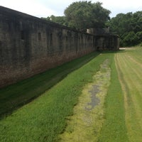 Photo taken at Fort Gaines by Ethan L. on 6/23/2013