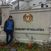 Photo taken at Embassy Of Malaysia by Aque R. on 11/27/2013