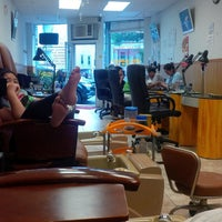Photo taken at T&T Nail Salon by Vynelle W. on 6/3/2013
