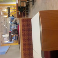 Photo taken at Au Bon Pain by Vynelle W. on 4/12/2013