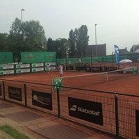 Photo taken at Tennis Club Duinbergen by Bram C. on 7/23/2013