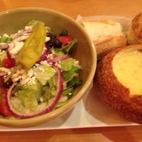 Photo taken at Panera Bread by Julie S. on 8/11/2013