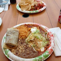 Photo taken at La Playa Taco Shop by Jeff V. on 7/7/2013