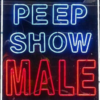 Photo taken at The Peepshow Machine by CoolNerd on 8/31/2014