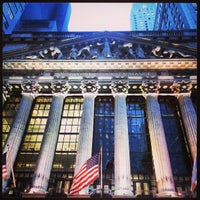 Photo taken at New York Stock Exchange by CoolNerd on 5/24/2013