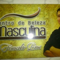 Photo taken at centro de beleza masculina by Amaury C. on 4/25/2013