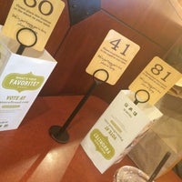 Photo taken at Panera Bread by Julie A. on 3/30/2014