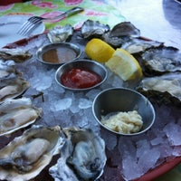 Photo taken at Ferry Plaza Seafood by Rafael on 9/29/2012