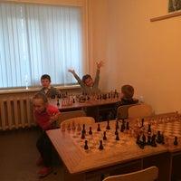 """Photo taken at Шахматный клуб """"Ладья"""" by Леночка🌺 К. on 10/23/2014"""