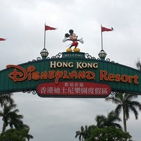 Photo taken at Hong Kong Disneyland by Jeremy B. on 4/26/2013