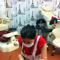 Photo taken at Nghia Nails by Liza T. on 11/14/2012