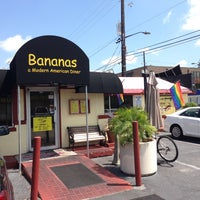 Photo taken at Bananas Modern American Diner by Mark H. on 4/26/2013