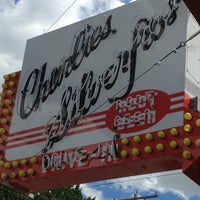 Photo taken at Charlie's Drive In by Tina R. on 7/27/2013