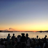 Photo taken at English Bay Beach by Gladys on 7/28/2013
