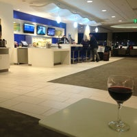 Photo taken at Delta Sky Club by andres z. on 3/26/2013