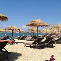 Photo taken at Ακτή του Ήλιου by Vassilis B. on 5/12/2013