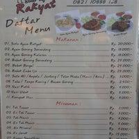 Photo taken at Soto Ayam Rakyat by ☼ Adriana ☼. on 8/2/2014