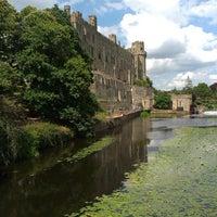 Photo taken at Warwick Castle by Dániel T. on 7/25/2013