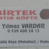 Photo taken at BirTek Satır Köfte by Fatih E. on 6/24/2014