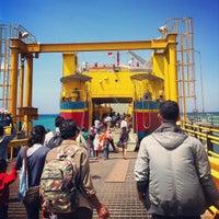 Photo taken at Pelabuhan Padang Bai by Regga B S. on 8/11/2013