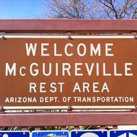 Photo taken at McGuireville Rest Area by Mark V. on 2/2/2013