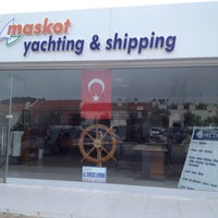 Photo taken at Maskot Shipping by Sinemsquare on 4/23/2013