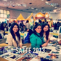 Photo taken at Pragati Maidan-Hall No. 11 by Ying Patchara C. on 1/17/2013