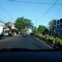 Photo taken at Jalan RW Monginsidi by debbie l. on 6/15/2013