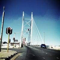 Снимок сделан в Nelson Mandela Bridge пользователем Matti H. 4/7/2013