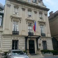 Photo taken at Embassy of Haiti by Jose R. on 6/13/2013