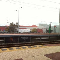 Photo taken at City West Train Station by Eisuke เ. on 4/16/2013