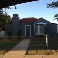 Photo taken at Geoge W Bush Childhood Home by Richard T. on 10/18/2012