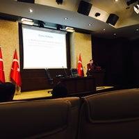 Photo taken at T.C BAŞBAKANLIK YENİ BİNA by Kübra Nur on 11/3/2015