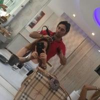 Photo taken at Hairdresser Erhan Kara by Tuba T. on 8/25/2014