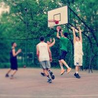 Photo taken at Кафезите Баскетбол by WhyNot I. on 5/6/2015