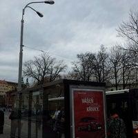 Photo taken at Zimní stadion (bus) by Hanus H. on 4/11/2013