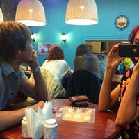 Photo taken at UNA pizza&sushi by A5uKa! Ю. on 4/5/2014