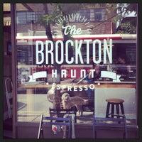 Photo taken at Brockton Haunt by Aaron B. on 6/8/2013