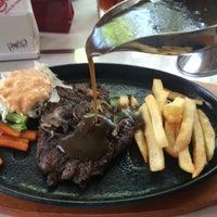 Photo taken at Boncafe Steak & Ice Cream by Winda M. on 8/14/2015