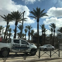Photo taken at Damascus Gate Light Rail Station by Guido on 1/13/2017